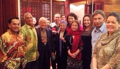 Tan Sri Arshad Ayub with Friends
