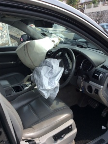 Airbags from the car!