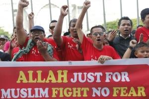 Perkasa Rally on Allah