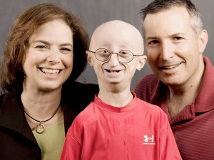 Sam Berns and His parents