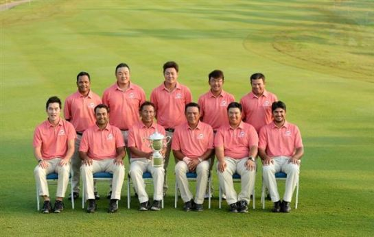 Asia's Team for 2014 EurAsia Cup, 2014