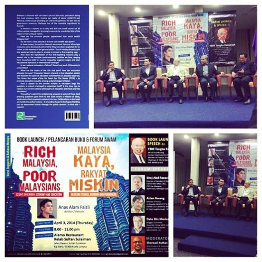 Book Launch on April 3, 2014