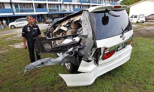 The driver of the lorry involved in the road accident that killed Bukit Gelugor MP Karpal Singh this morning has tested positive for drugs.
