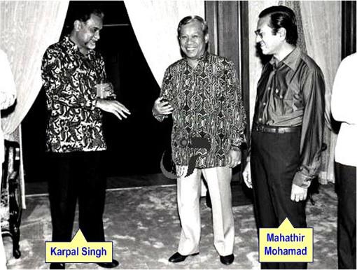 It's Dr Mahathir, not Karpal, who belittled hudud.