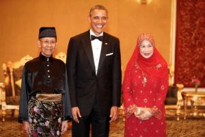 Obama and King of Malaysia