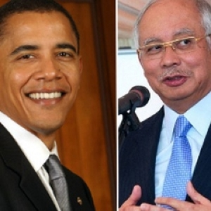 Obama and Najib