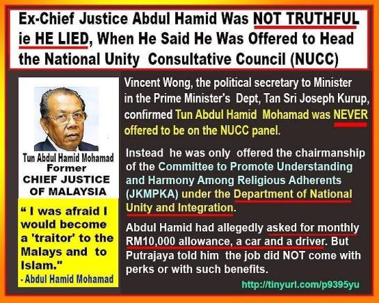 CJ of Malaya Hamid