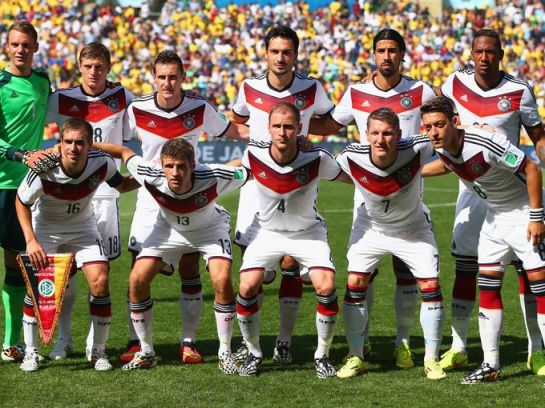 German Team--Brazil 2014