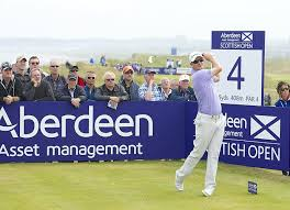 Justin Rose at the Scottish 2014 Open