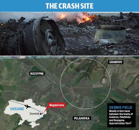 MH17 Crash Site2