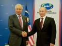 Najib and Putin