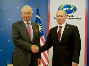 Najib and Putin