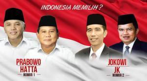 Prabowo lawan Jokowi
