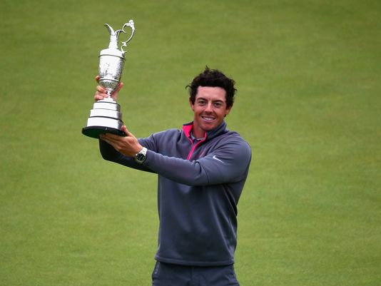 Rory-McIlroy win The Claret Jug