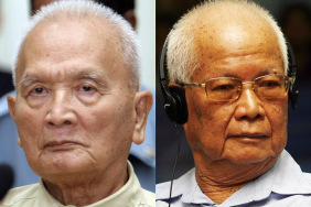 Former Khmer Rouge leader Nuon Chea appe