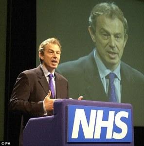 Blair and NHS