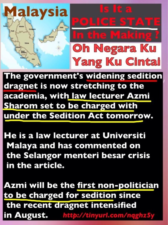 Azmi is critical but never seditious since he knows his limits.