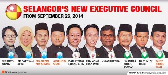 New Selangor Exco