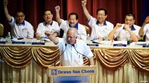Najib at MCA