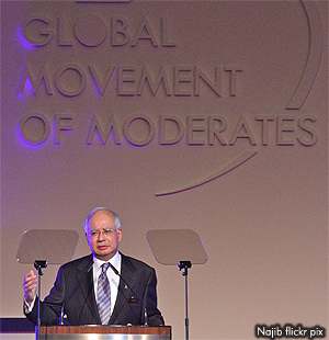 Najib The so-called Moderate
