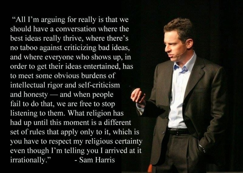 Sam Harris- We should have a conversation