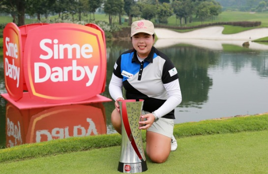 Shanshan Feng wins Sime Darby LPGA 2015