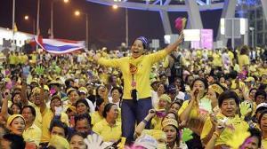 Thailand Democracy Protest