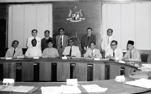 Tunku A Rahman and his early team