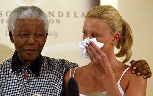 Mandela and Theron