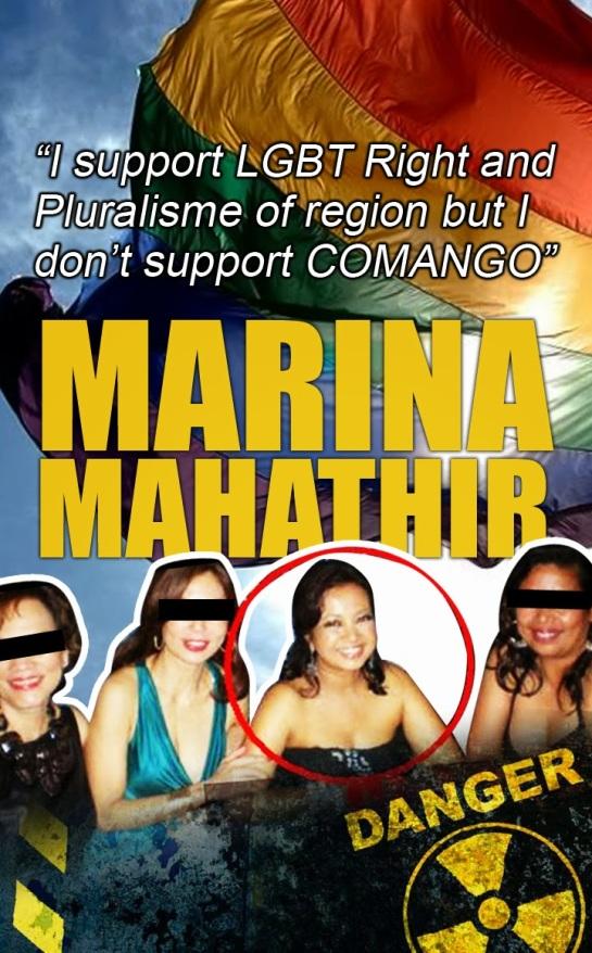 Marina dalang LBGT?