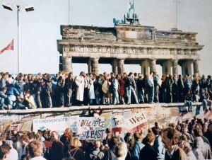 The Berlin Wall, 1989