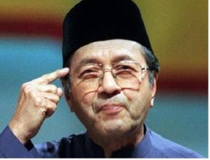 Thinks, says Mahathir