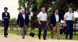 George W. Bush, Dick Cheney, Condoleezza Rice, Donald Rumsfeld, Richard Myers