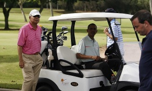 Najib and Obama in Hawaii