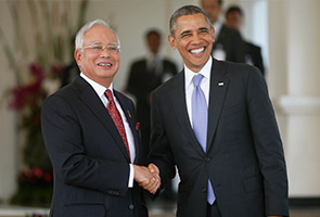 Najib and Obama