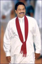 Pres Mahinda Rajapaksa