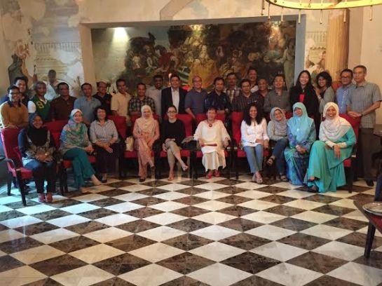 GWU Alum Group Photo