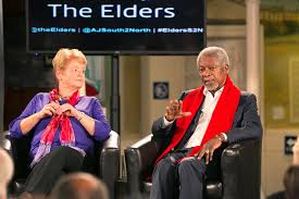 Kofi A. Annan and Gro Harlem Brundtland