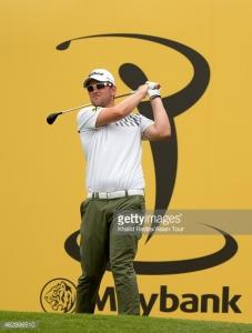 Wiesberger at Maybank 2015 Golf Open