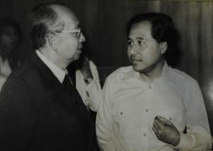 Abdullah Ahmad and Tun Razak