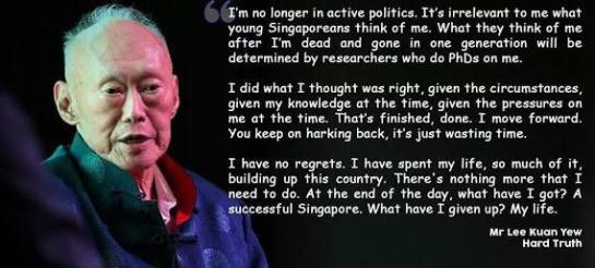 Farewell, Mr. Lee Kuan Yew