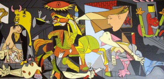 Homage_to_Picasso__Guernica