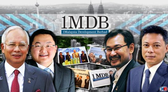 Najib and 1MDB