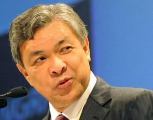 Malaysian Defence Minister Ahmad Zahid Hamidi, pictured in 2010