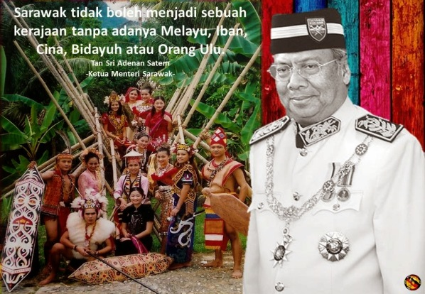 Image result for tan sri adenan satem