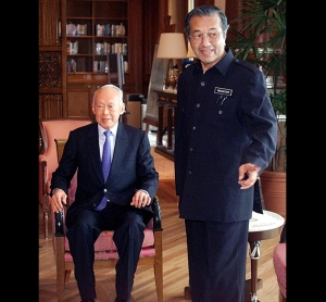Kuan Yew and Dr. M