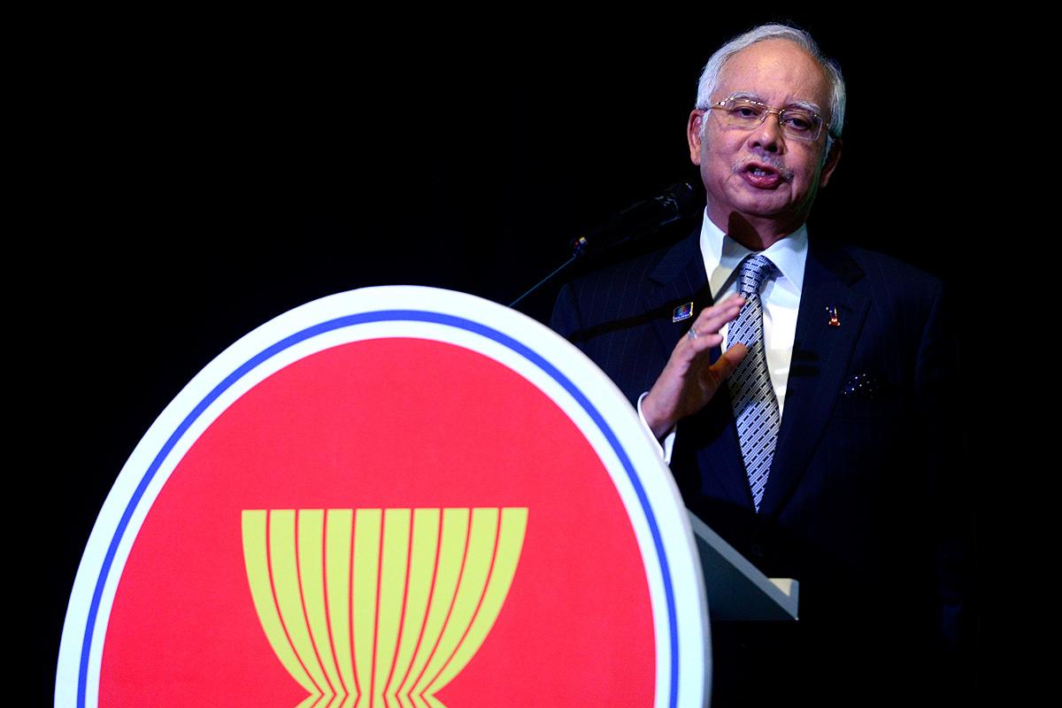 We can't fight terrorism alone, says Najib