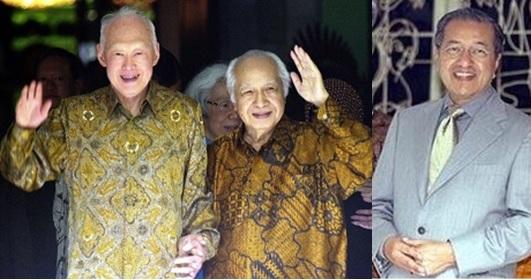 Soeharto-LeeKuanYew-Mahathir