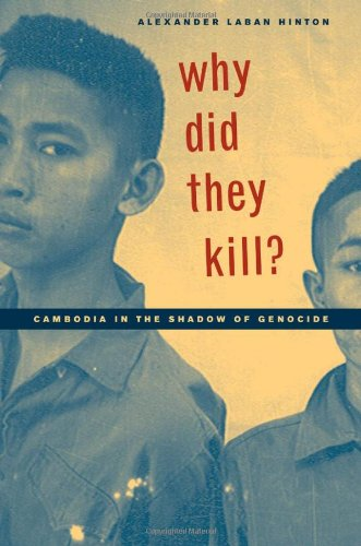 Book on Cambodian genocide