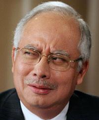Confused Najib